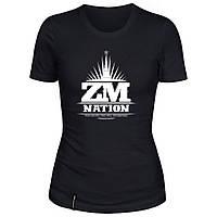 Женская футболка - ZM Nation, отличный подарок купить со скидкой, недорого