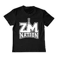 Футболка детская - ZM nation, отличный подарок купить со скидкой, недорого