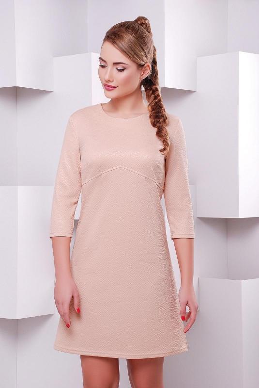 Женское повседневное платье в пастельных тонах