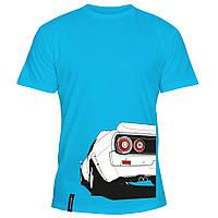 Мужская футболка - Nissan Skyline, отличный подарок купить со скидкой, недорого