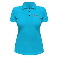 Женская футболка Поло - Я покерный игрок, отличный подарок купить со скидкой, недорого