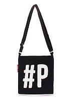 Коттоновая сумка POOLPARTY Detroit