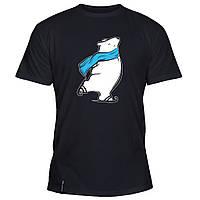 Мужская футболка - Мишка, отличный подарок купить со скидкой, недорого