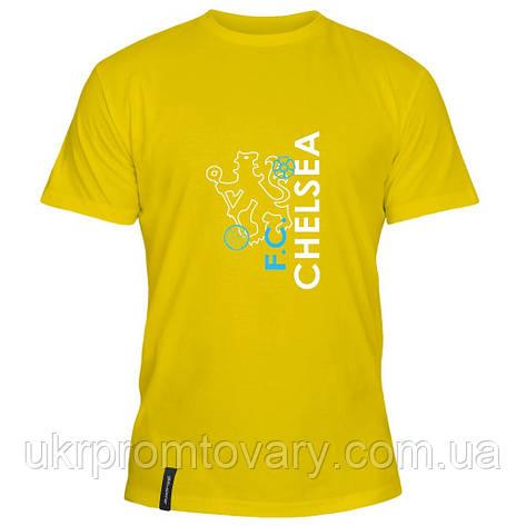 Мужская футболка - Лев Челси, отличный подарок купить со скидкой, недорого, фото 2