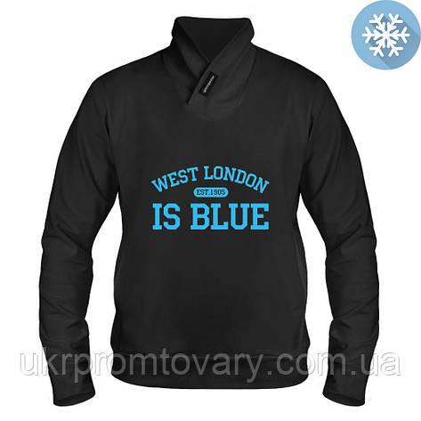 Толстовка утепленная - West London, отличный подарок купить со скидкой, недорого, фото 2