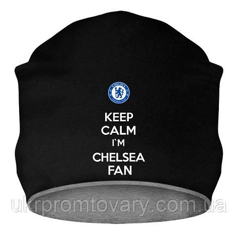 Шапка - Chelsea fan, отличный подарок купить со скидкой, недорого, фото 2
