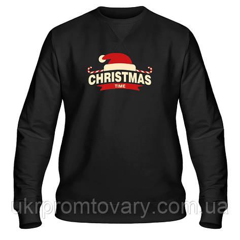 Свитшот мужской - Merry Christmas, отличный подарок купить со скидкой, недорого, фото 2