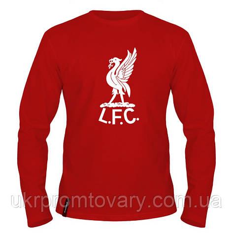 Лонгслив мужской - Liverpool 1960s logo, отличный подарок купить со скидкой, недорого, фото 2