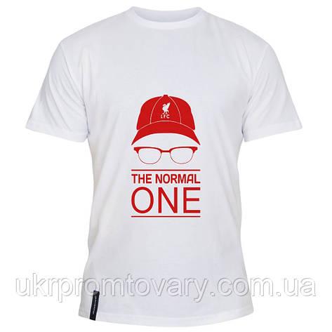 Мужская футболка - The normal one, отличный подарок купить со скидкой, недорого, фото 2