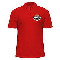 Мужская футболка Поло - Conference champions 2010, отличный подарок купить со скидкой, недорого