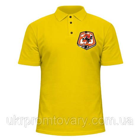 Мужская футболка Поло - Claude Giroux, отличный подарок купить со скидкой, недорого, фото 2