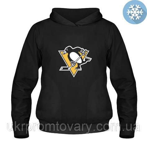 Кенгурушка утепленная - Pittsburgh Penguins, отличный подарок купить со скидкой, недорого, фото 2