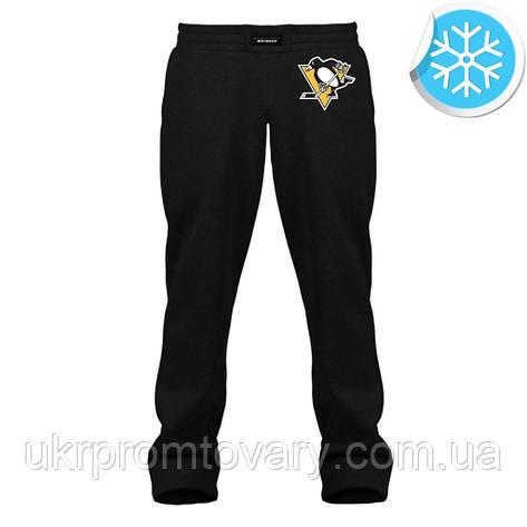 Штаны утепленные - Pittsburgh Penguins, отличный подарок купить со скидкой, недорого, фото 2