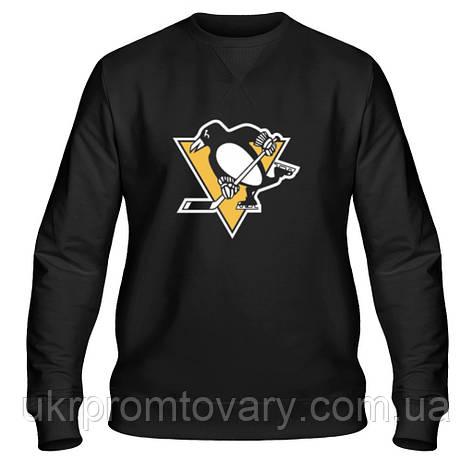 Свитшот мужской - Pittsburgh Penguins, отличный подарок купить со скидкой, недорого, фото 2
