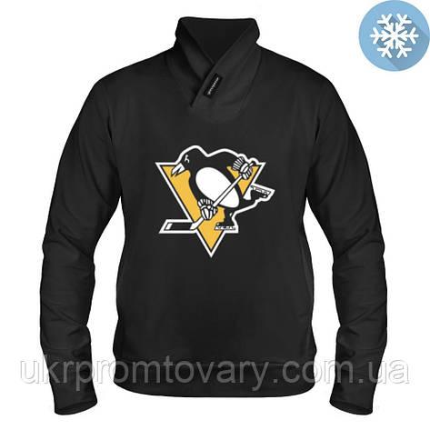 Толстовка утепленная - Pittsburgh Penguins, отличный подарок купить со скидкой, недорого, фото 2