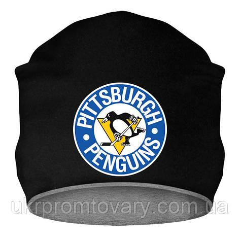 Шапка - Penguins logo 1968-1972, отличный подарок купить со скидкой, недорого, фото 2
