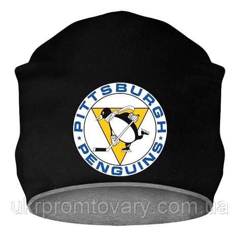 Шапка - Penguins logo 1967-1968, отличный подарок купить со скидкой, недорого, фото 2
