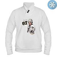 Толстовка утепленная - Sidney Crosby, отличный подарок купить со скидкой, недорого