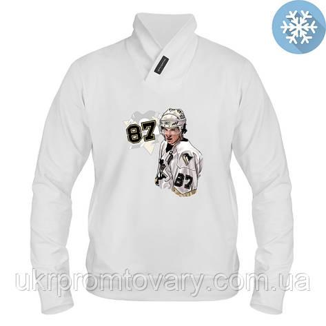 Толстовка утепленная - Sidney Crosby, отличный подарок купить со скидкой, недорого, фото 2