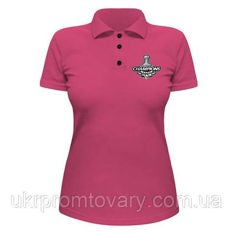 Женская футболка Поло - Champions 2009, отличный подарок купить со скидкой, недорого, фото 2