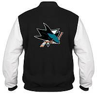 Куртка - бомбер - Sharks, отличный подарок купить со скидкой, недорого