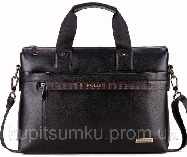 Мужская сумка портфель POLO