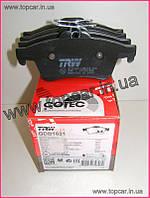 Тормозные колодки задние Renault Megane II  TRW Германия GDB1621