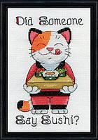 """Набор для вышивания крестом """"Say Sushi//Скажи Суши"""" Design Works"""