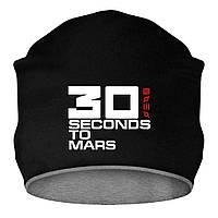 Шапка - 30 Seconds to Mars, отличный подарок купить со скидкой, недорого
