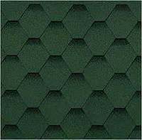 Битумная черепица Шинглас ( серии Классик ) Кадриль Соната зеленая