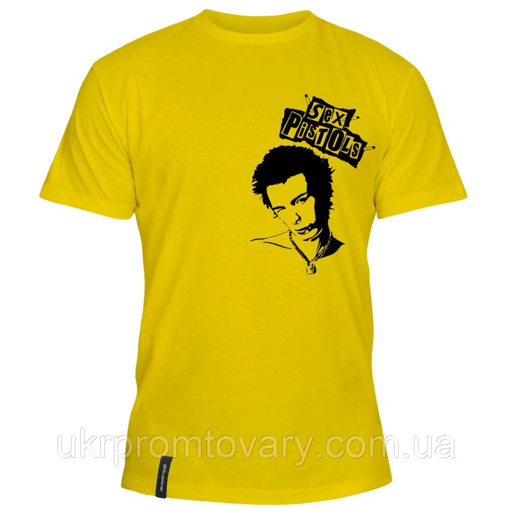 Мужская футболка - Sex pistols, отличный подарок купить со скидкой, недорого