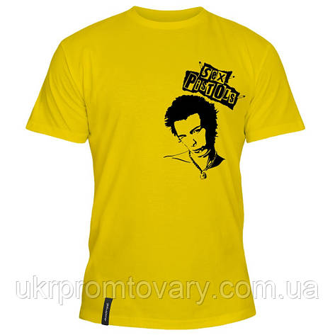 Мужская футболка - Sex pistols, отличный подарок купить со скидкой, недорого, фото 2