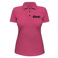 Женская футболка Поло - Blink 182, отличный подарок купить со скидкой, недорого