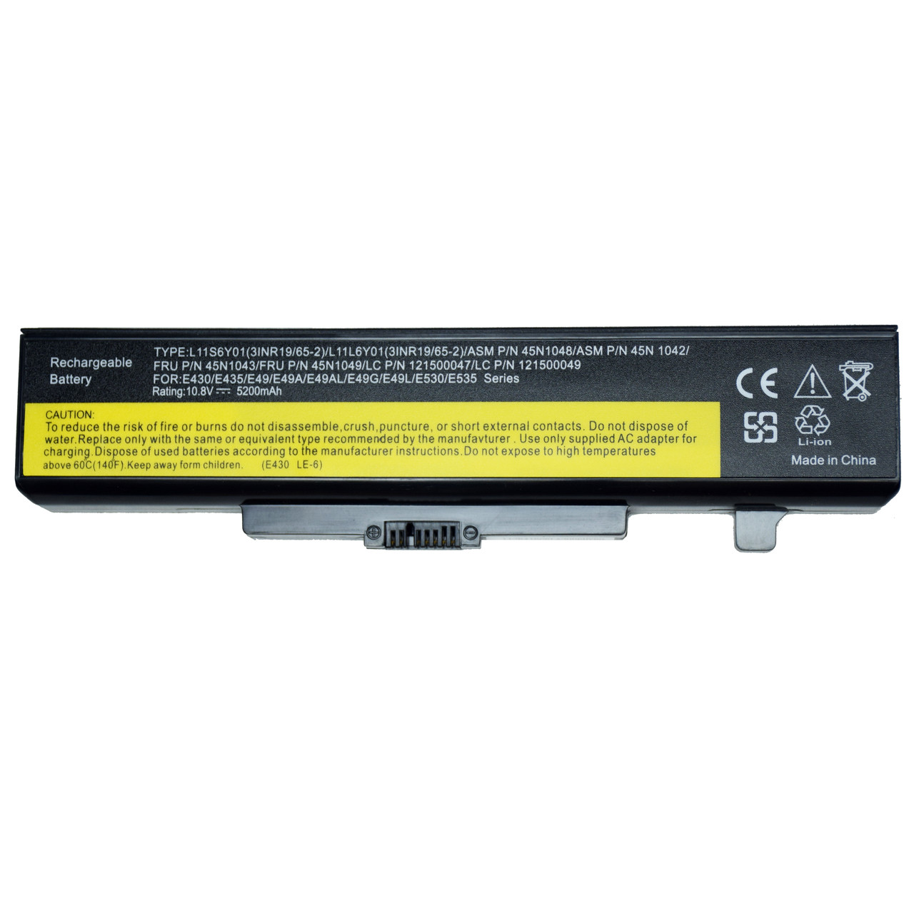 Аккумулятор батарея LENOVO 45N1050 45N1051 45N1052 45N1053 45N1054 121500047 121500048 121500049 121500050