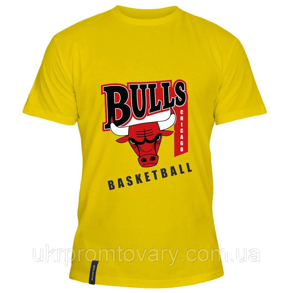 Мужская футболка - Chicago Bulls Basketball, отличный подарок купить со скидкой, недорого