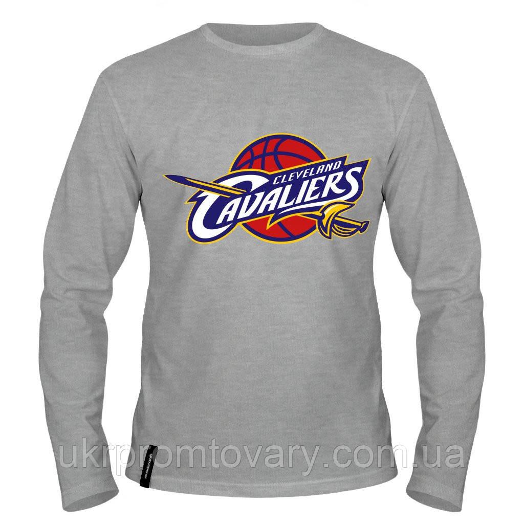 Лонгслив мужской - Cleveland Cavaliers, отличный подарок купить со скидкой, недорого