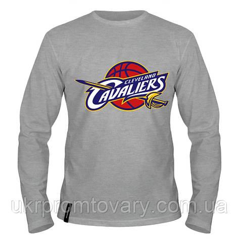 Лонгслив мужской - Cleveland Cavaliers, отличный подарок купить со скидкой, недорого, фото 2