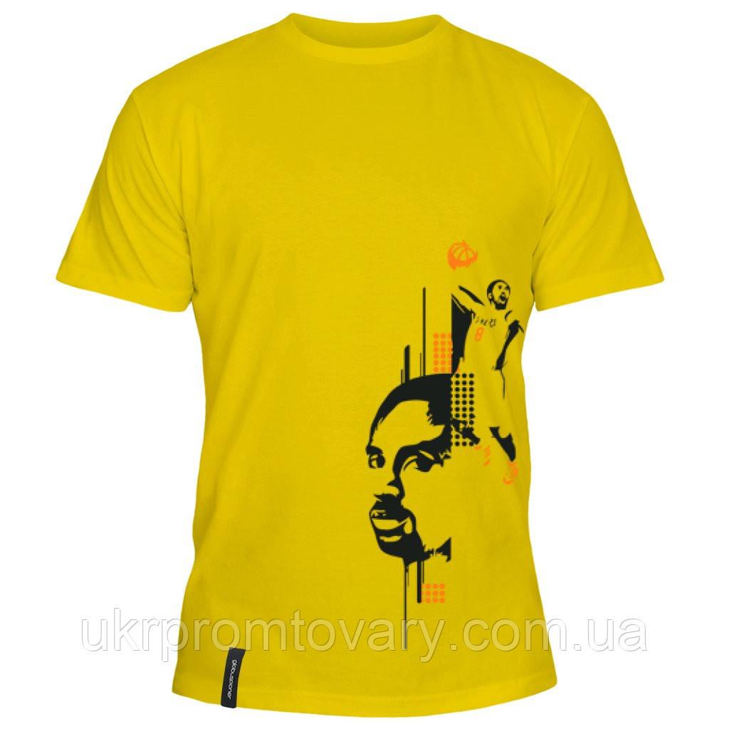 Мужская футболка - Коби Брайант, отличный подарок купить со скидкой, недорого