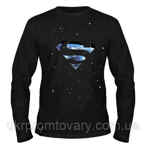 Лонгслив мужской - Superman Smallville, отличный подарок купить со скидкой, недорого, фото 2