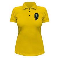 Женская футболка Поло - Korn zombie, отличный подарок купить со скидкой, недорого