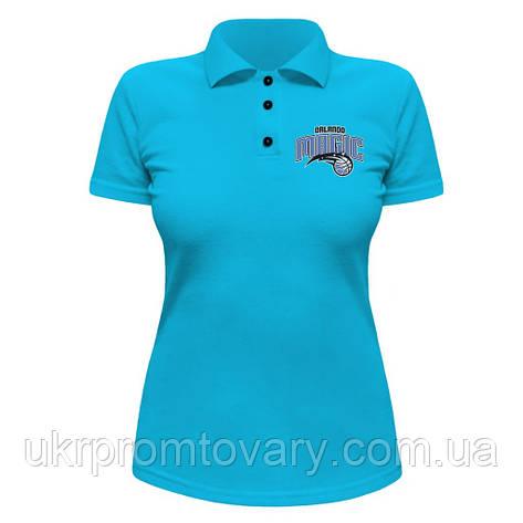 Женская футболка Поло - Orlando Magic, отличный подарок купить со скидкой, недорого, фото 2