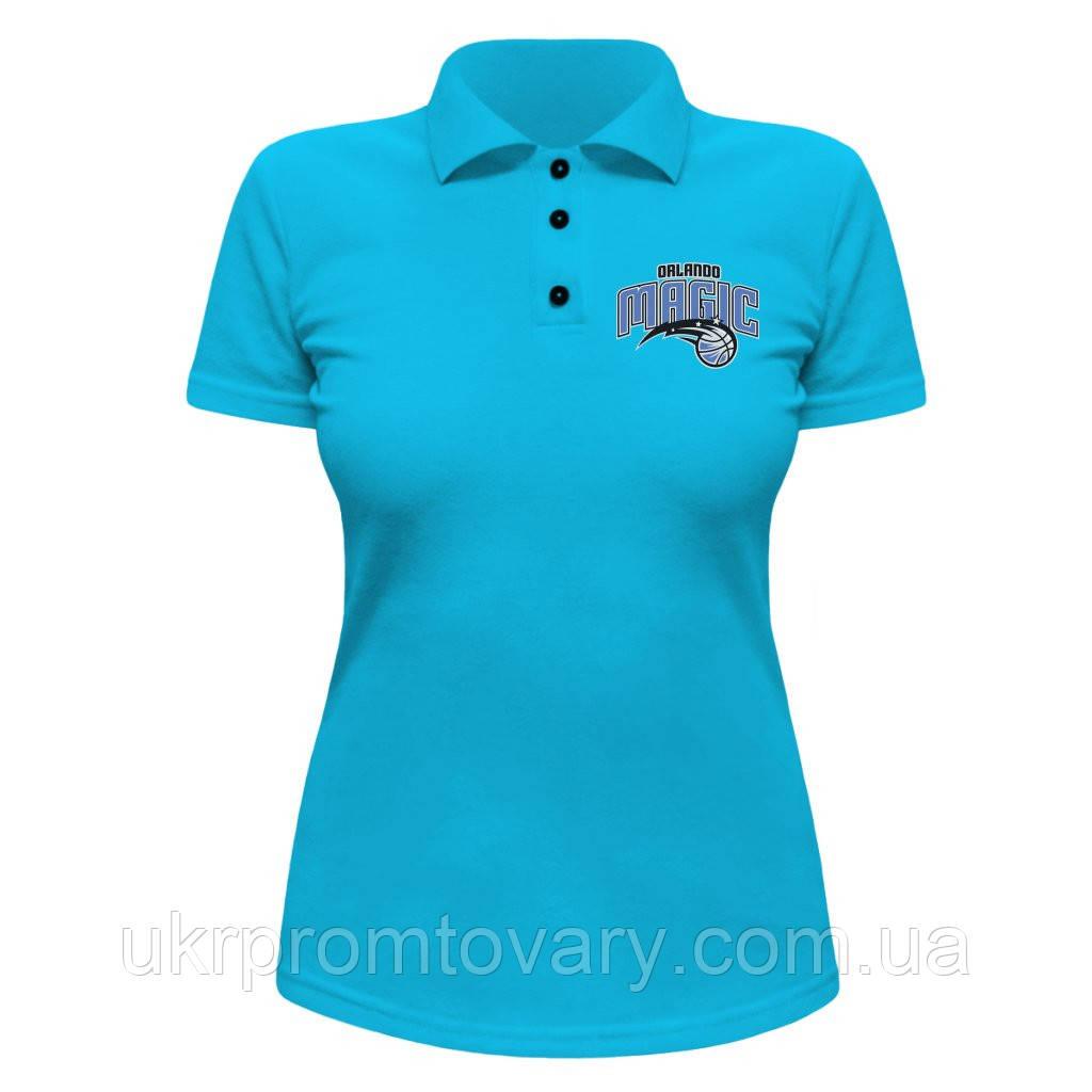 Женская футболка Поло - Orlando Magic, отличный подарок купить со скидкой, недорого