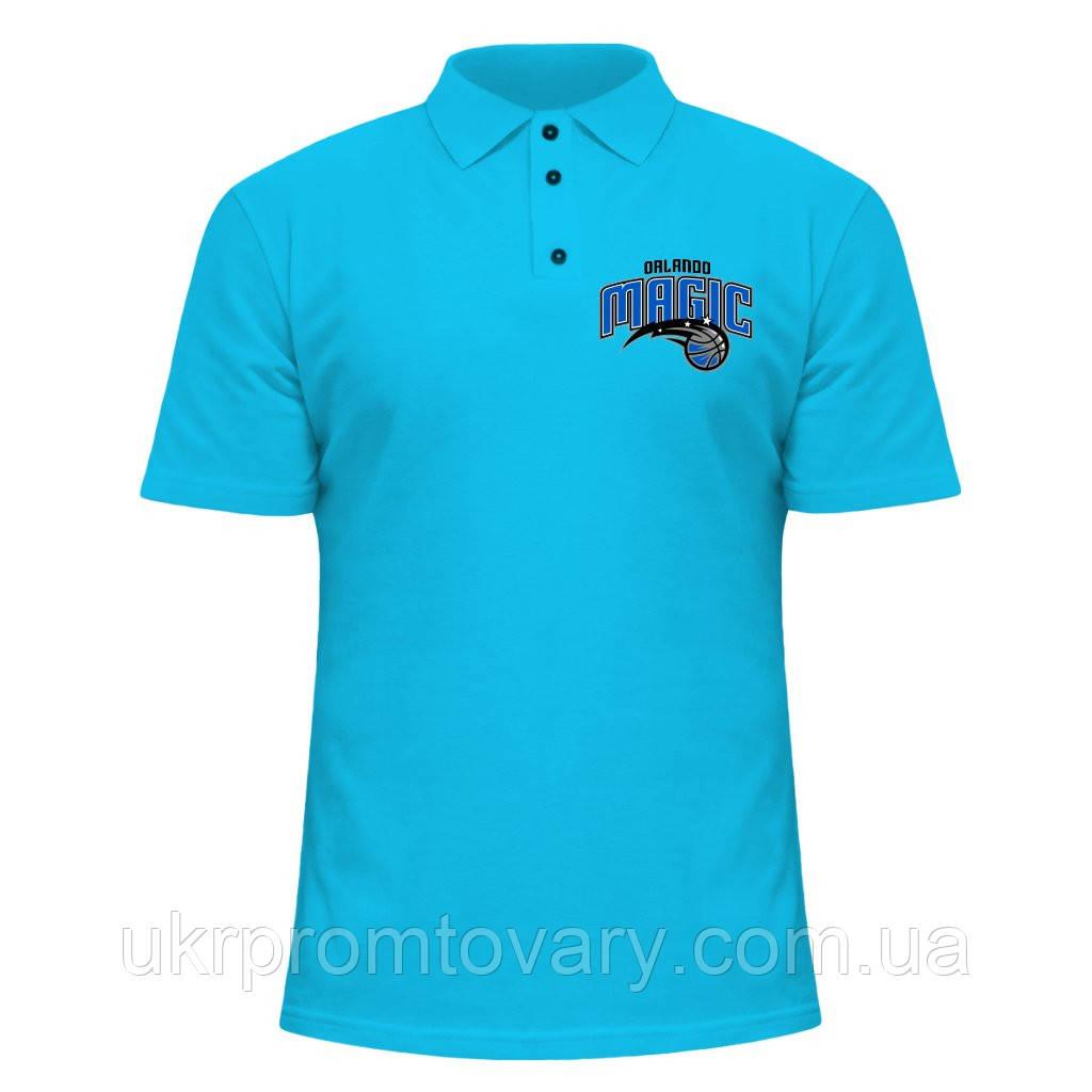 Мужская футболка Поло - Orlando Magic, отличный подарок купить со скидкой, недорого