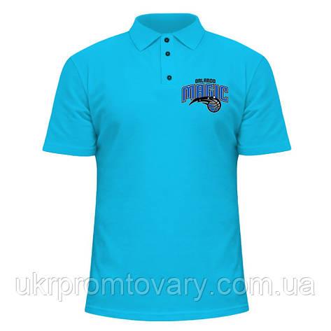 Мужская футболка Поло - Orlando Magic, отличный подарок купить со скидкой, недорого, фото 2
