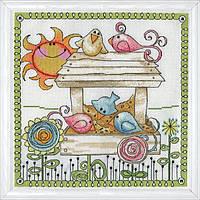 """Набор для вышивания крестом """"Bird Feeder//Кормушка для птиц"""" Design Works"""
