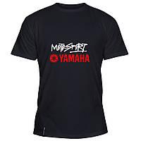 Мужская футболка - YAMAHA  Moto Sport, отличный подарок купить со скидкой, недорого