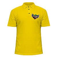 Мужская футболка Поло - Yamaha racing team, отличный подарок купить со скидкой, недорого