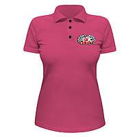 Женская футболка Поло - Yamaha sport, отличный подарок купить со скидкой, недорого