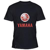 Мужская футболка - Yamaha logo, отличный подарок купить со скидкой, недорого