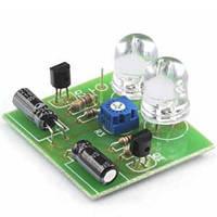 Радиоконструктор (набор компонентов) K122 (мультивибратор-мигалка, 2 светодиода)